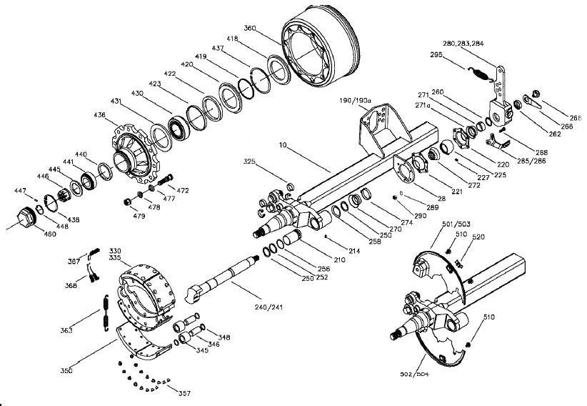 saddle tree with diagram